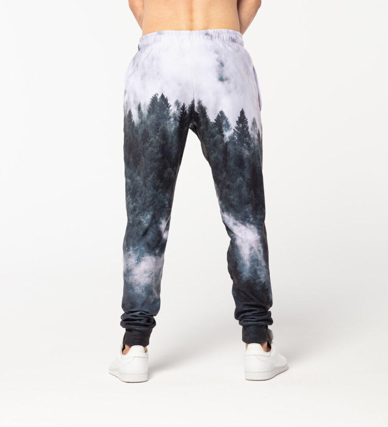 Mighty Forest Grey mens sweatpants