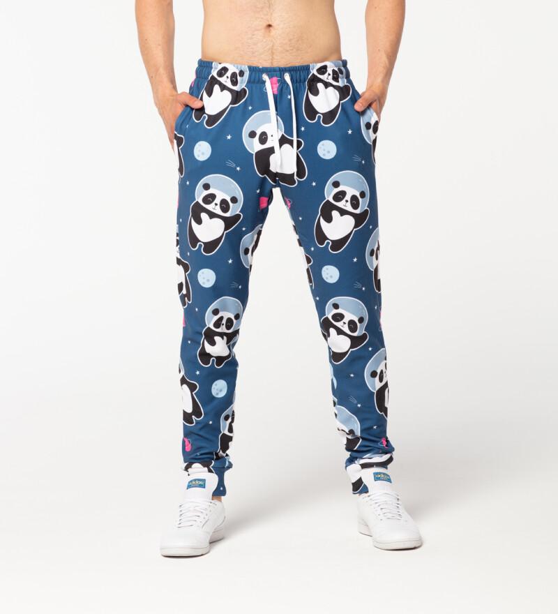Męskie spodnie dresowe Astronaut Panda