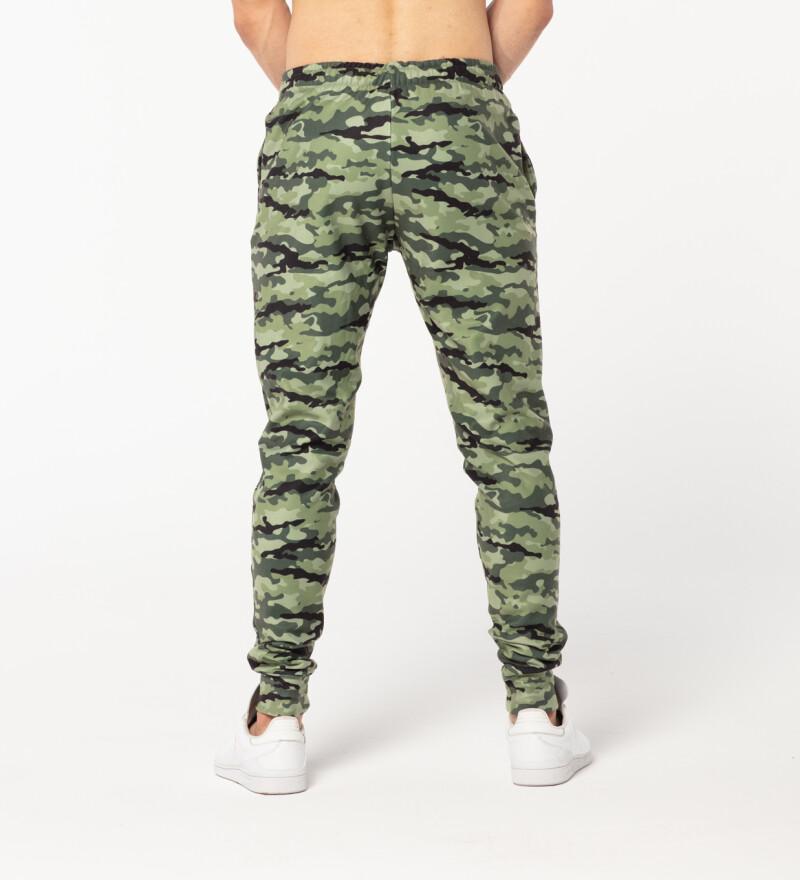 Męskie spodnie dresowe Camo