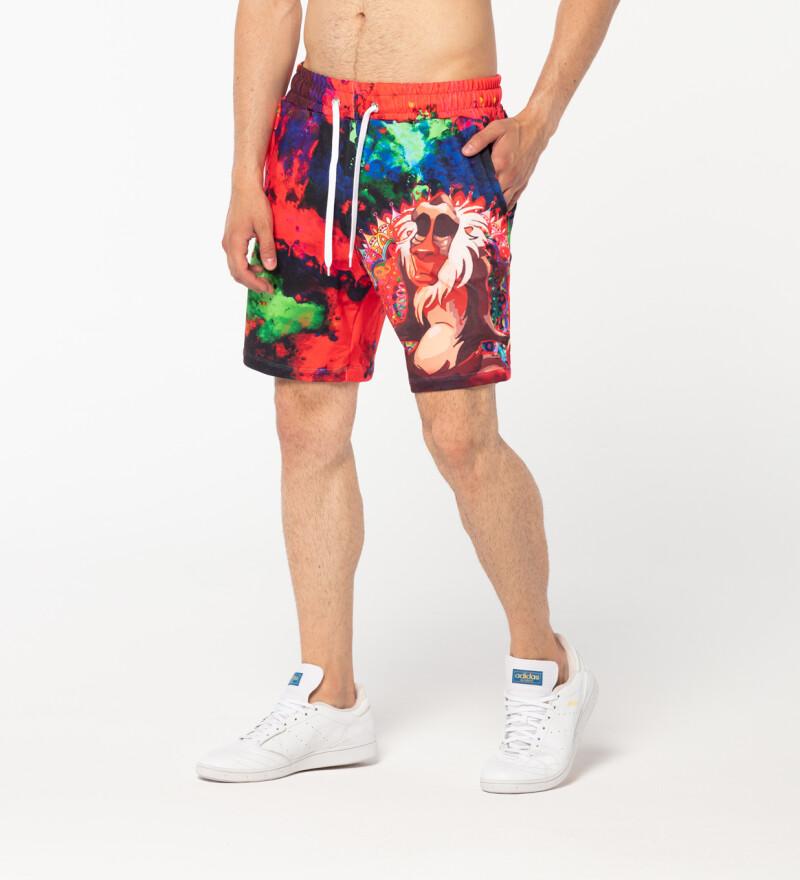 Colorful Shaman shorts