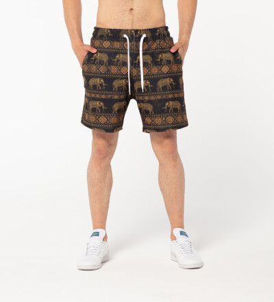 Golden Elephants shorts
