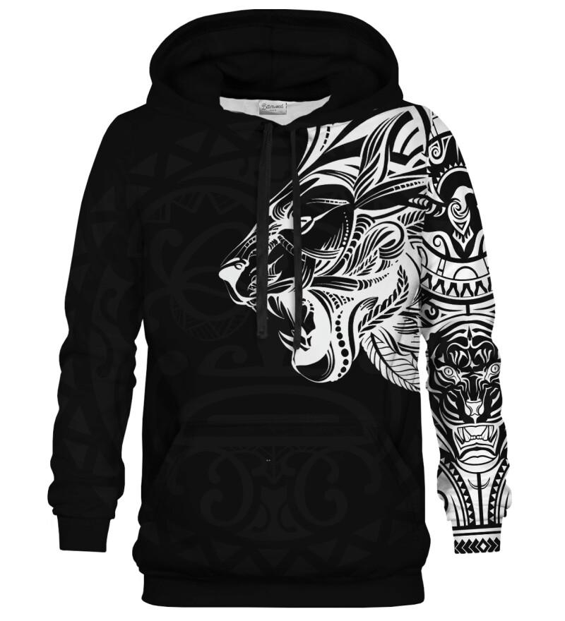 Polynesian Lion Black hoodie