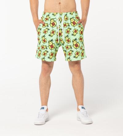 Avocado Ninja shorts