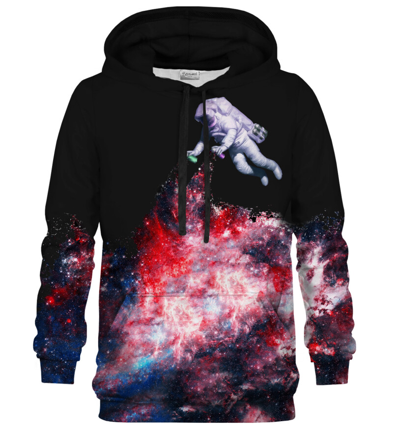 Bluza z kapturem Galaxy Art Black