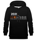 Review Black hoodie