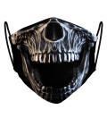 Maseczka Skull face