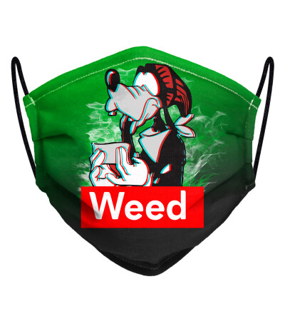 Weed buddy face mask