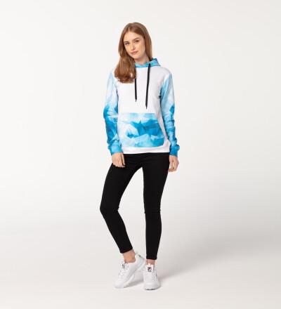 Blue Ocean womens cotton hoodie