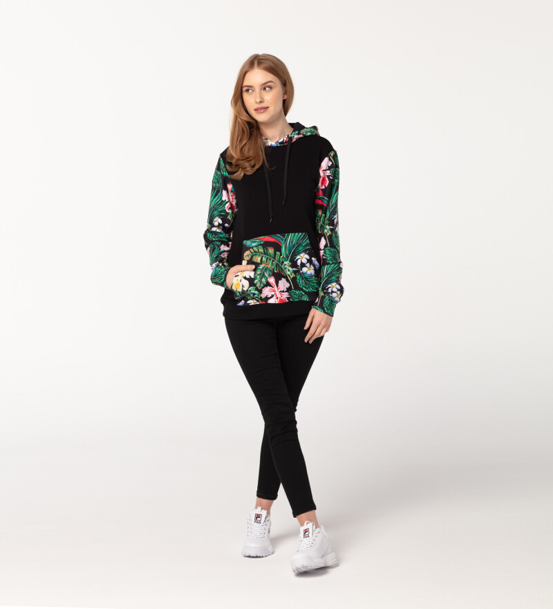 Close to nature womens cotton hoodie