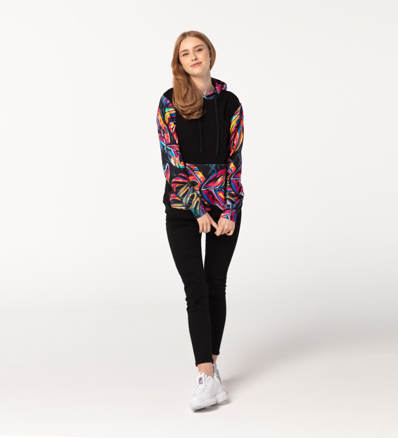 Full of Colors womens cotton hoodie