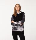 Grunge womens cotton hoodie