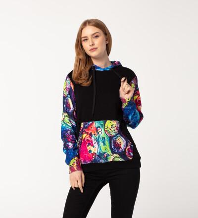 Melt womens cotton hoodie