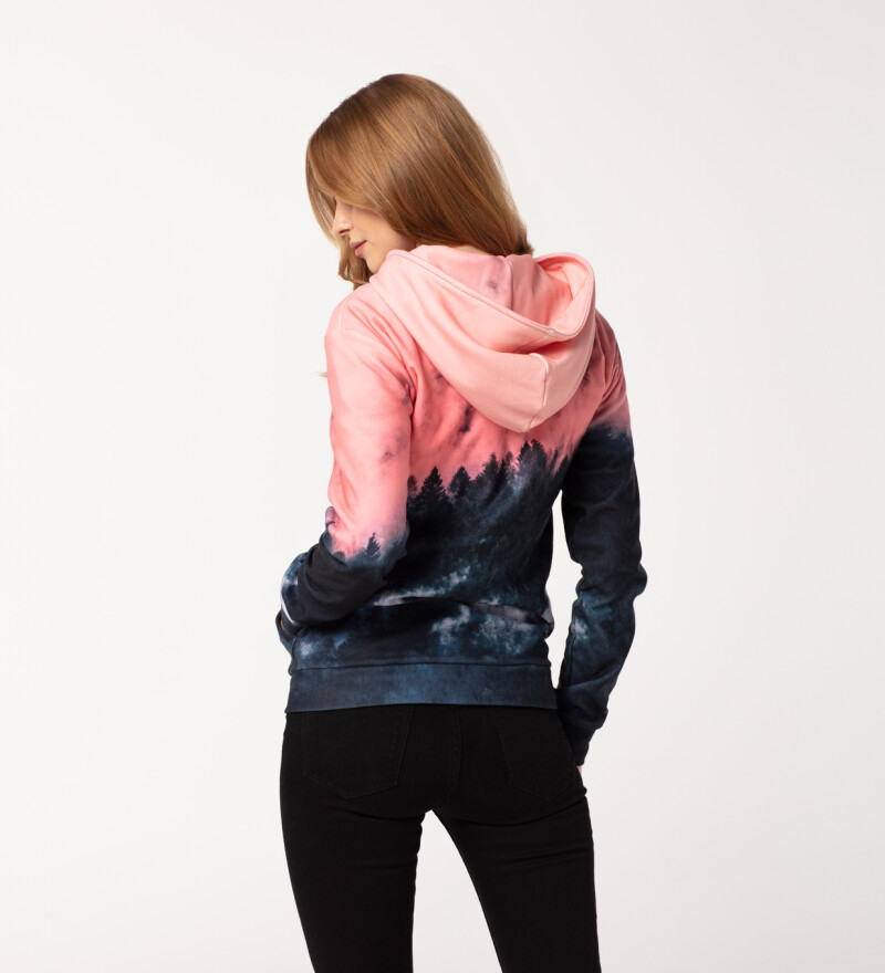 Mighty Forest womens zip up hoodie