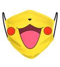Pika Pika face mask