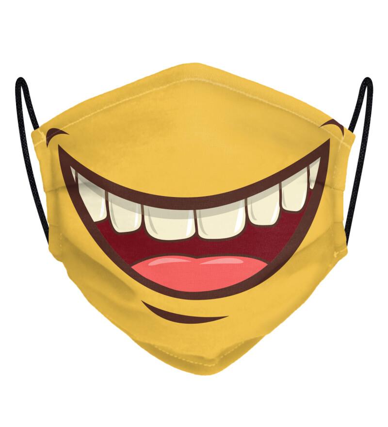 Cartoon Smile face mask