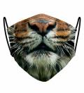 Tiger face face mask