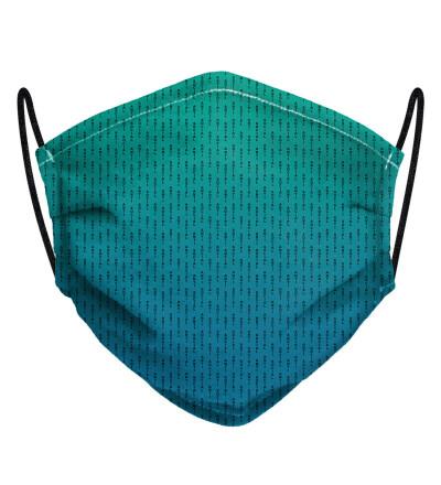 Phthalo ANTI SOCIAL face mask