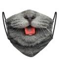 British Cat face mask