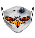 Silence of the lambs face mask