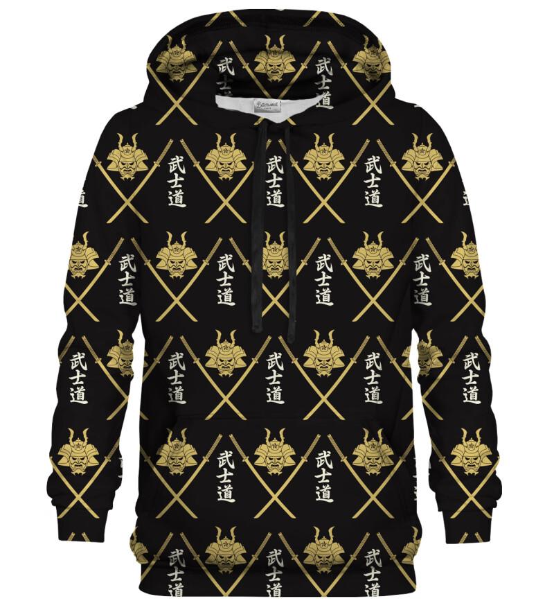Bluza z kapturem Samurai Pattern