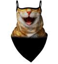 Bandana Cat Smile