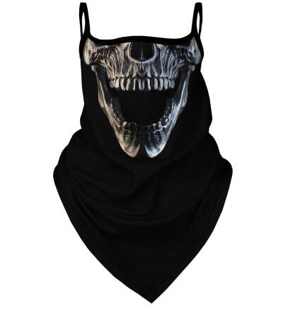 Skull bandana face mask