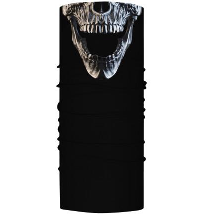Skull neck warmer