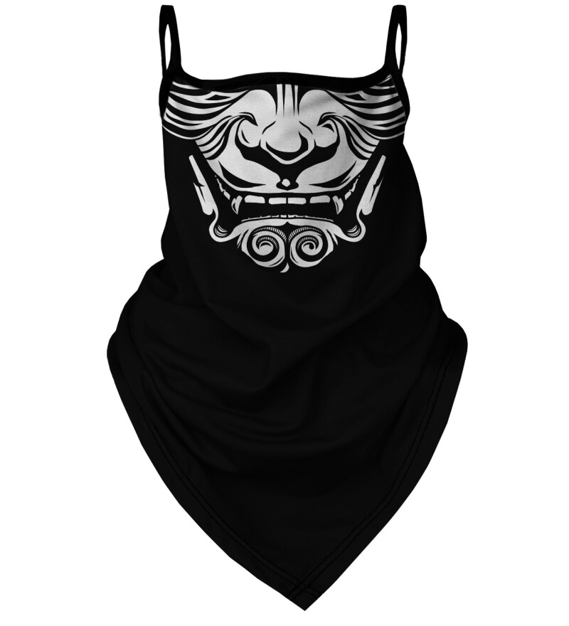 Japanese Demon bandana face mask