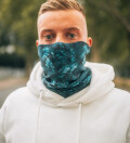 Pokebong Black Gradient neck warmer