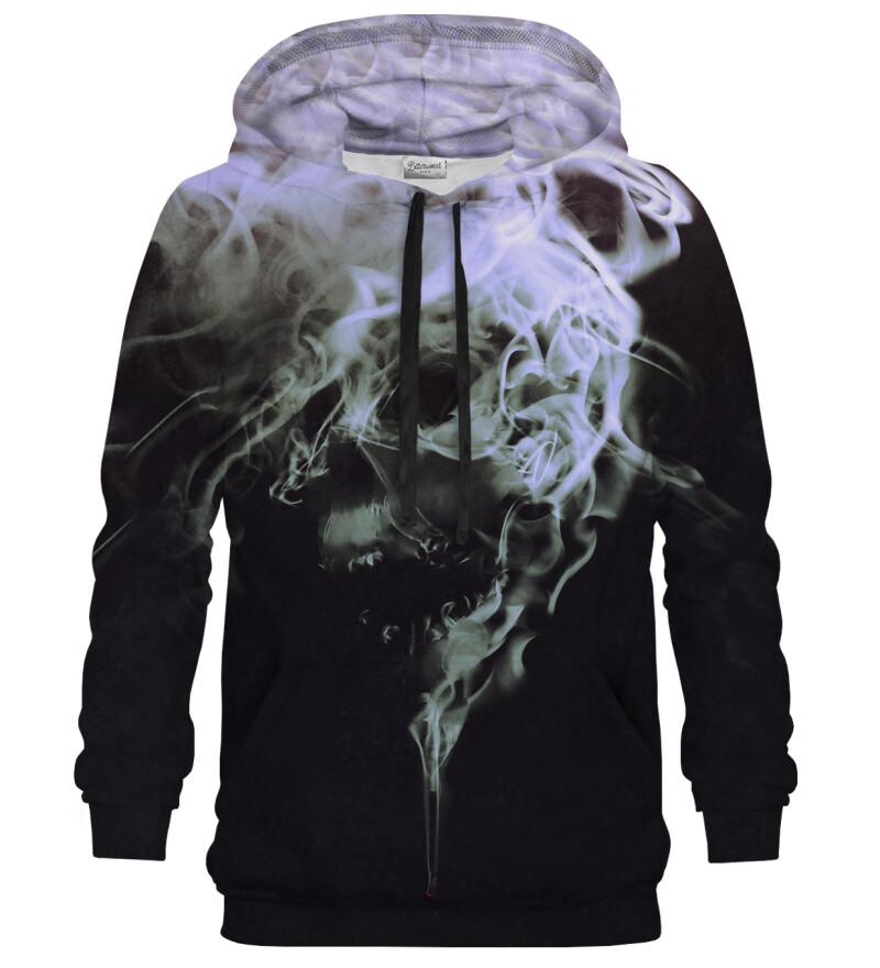 Bluza z kapturem Skull Smoke