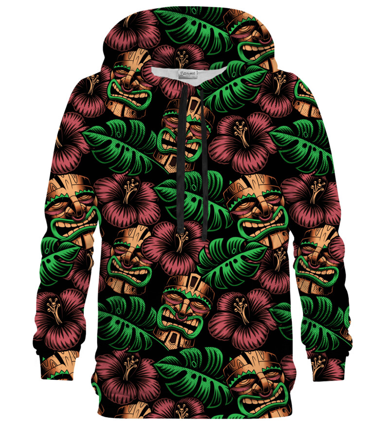 Polynesian masks hoodie