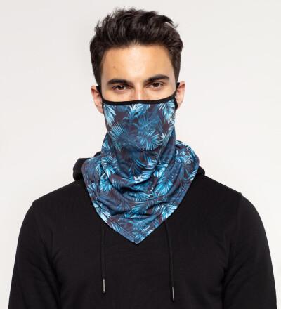 Paradise is here bandana face mask