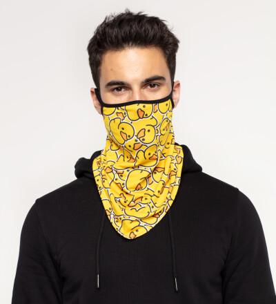Rubber Duck bandana face mask