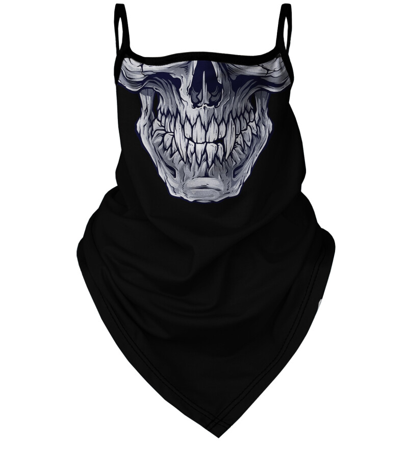 Damska bandana Grey Skull