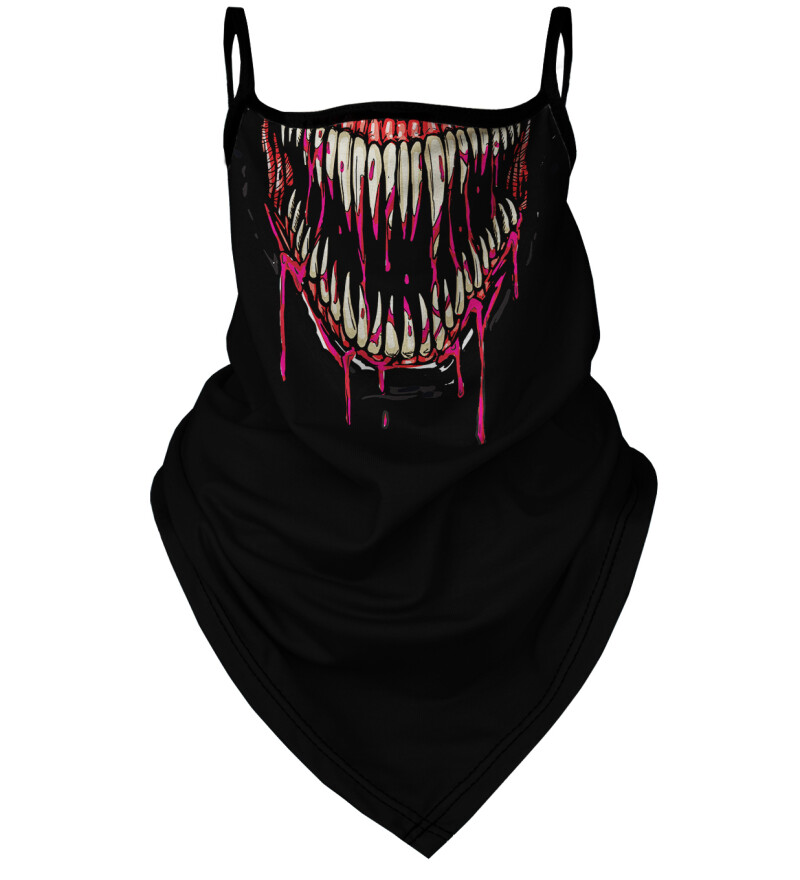 Venom womens bandana face mask