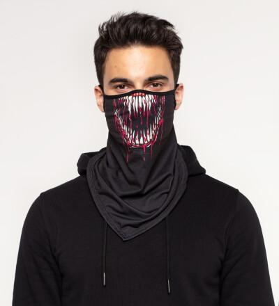 Venom bandana face mask