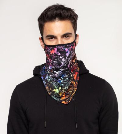 Black Walt Dealer bandana face mask