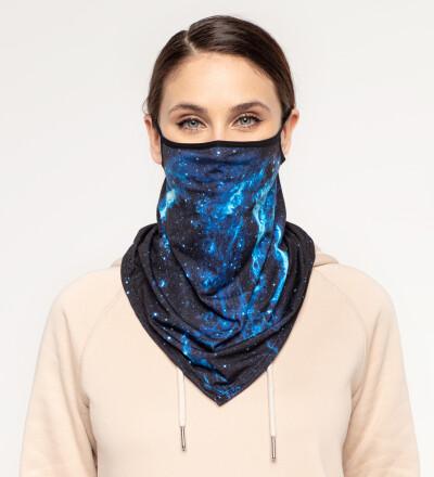 Galaxy Team womens bandana face mask