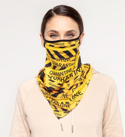 Quarantine womens bandana face mask