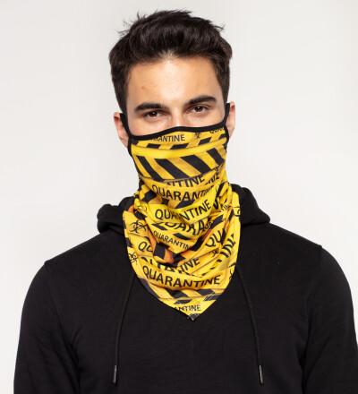 Quarantine bandana face mask