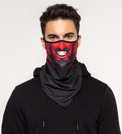 Devil bandana face mask