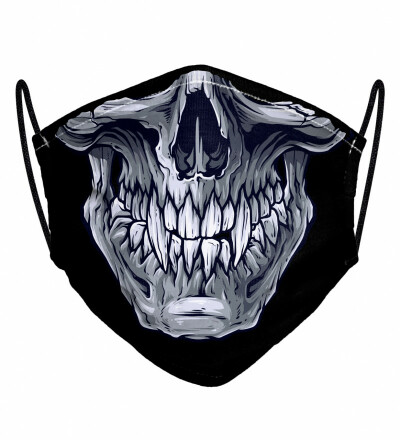 Skull womens face mask