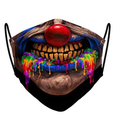 Clown womens face mask