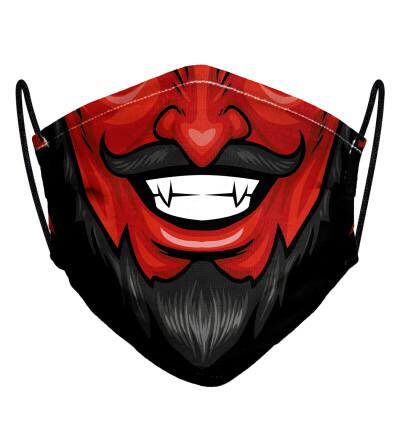 Devil womens face mask