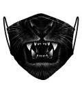 Tiger womens face mask