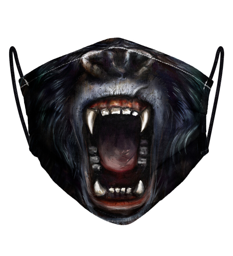 Damska maseczka Gorilla Face