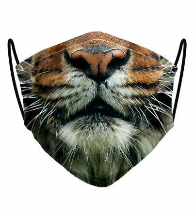 Tiger face womens face mask