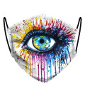 Eye womens face mask