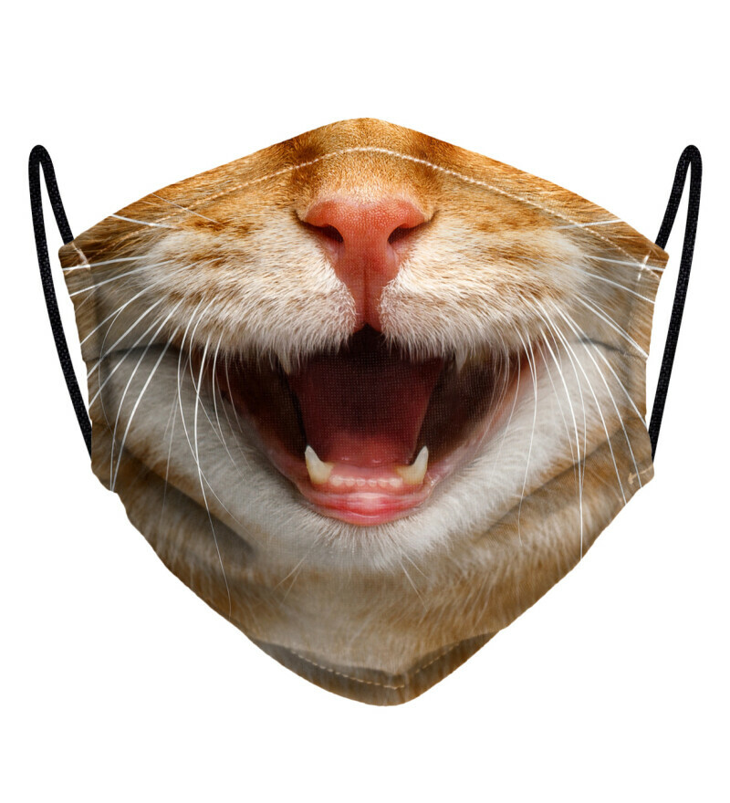 Cat Smile womens face mask