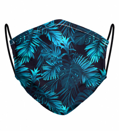 Paradise is here womens face mask